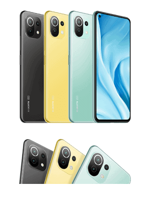 Blau.de - Xiaomi Mi 11 Lite 5G - Farben