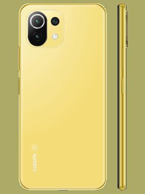 Blau.de - Xiaomi Mi 11 Lite 5G - gelb (Citrus Yellow)