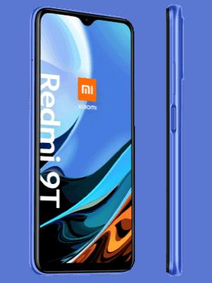 Blau.de - Xiaomi Redmi 9T - blau (seitlich)