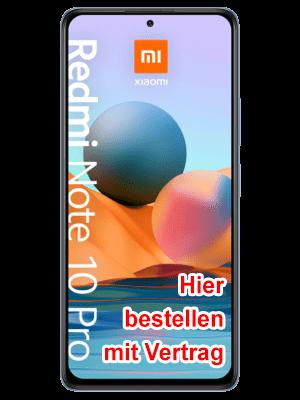 Blau.de - Xiaomi Redmi Note 10 Pro - hier bestellen