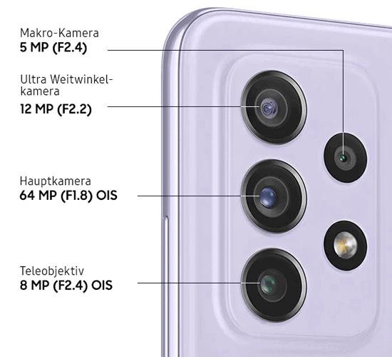 Kamera vom Samsung Galaxy A72