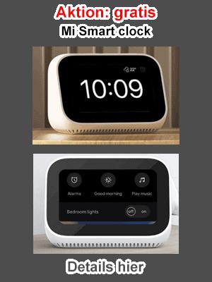 Gratis Xiaomi Mi Smart clock
