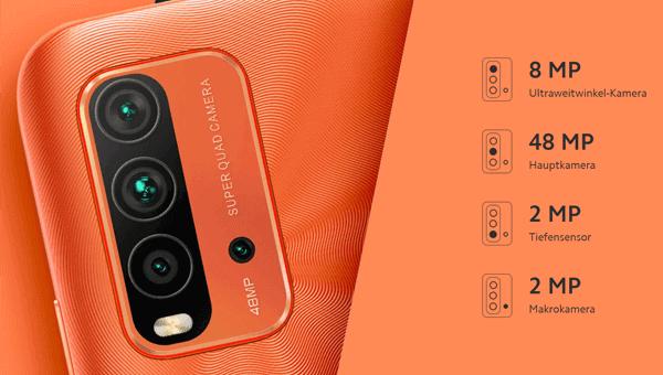 Kamera vom Xiaomi Redmi 9T