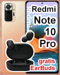 Blau.de - Xiaomi Redmi Note 10 Pro mit gratis EarBuds