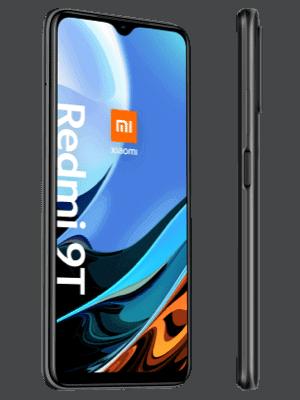 Blau.de - Xiaomi Redmi 9T - schwarz / grau (seitlich)