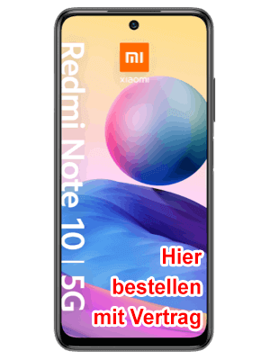 Blau.de - Xiaomi Redmi Note 10 5G - hier bestellen