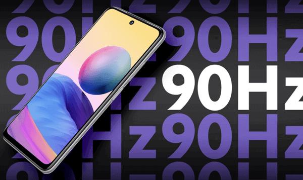 Display vom Xiaomi Redmi Note 10 5G