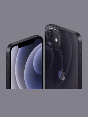 Blau.de - Apple iPhone 12 - schwarz (seitlich)