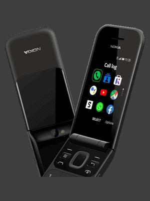 Blau.de - Nokia 2720 Flip - Display in Farbe