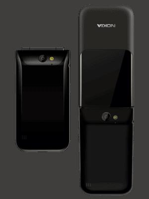Blau.de - Nokia 2720 Flip - Ansicht von hinten