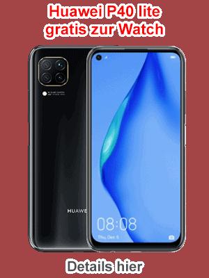 Huawei P40 lite gratis zur Watch - bei Blau.de