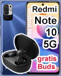 Blau.de - Xiaomi Redmi Note 10 5G mit Earbuds